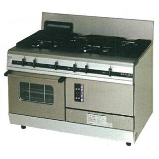 【業務用】マルゼン パワークックガスレンジ MGRX-127E 1200×750×800【 メーカー直送/後払い決済不可 】