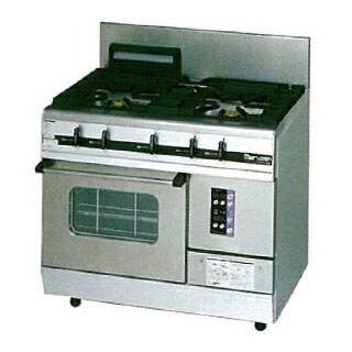 【業務用】 マルゼン パワークックガスレンジ MGRXS-096E 900×600×800 12A・13A(都市ガス)【 メーカー直送/後払い決済不可 】【ECJ】