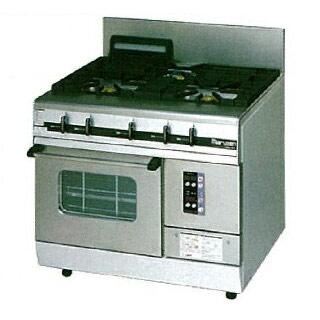 【業務用】 マルゼン パワークックガスレンジ MGRXS-097E 900×750×800 12A・13A(都市ガス)【 メーカー直送/後払い決済不可 】【ECJ】