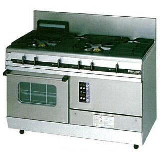 【業務用】マルゼン パワークックガスレンジ MGRXS-126E 1200×600×800【 メーカー直送/後払い決済不可 】