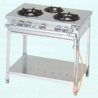 【業務用】マルゼン スタンダードタイプガステーブル MGT-074DS 750×450×800【 メーカー直送/後払い決済不可 】