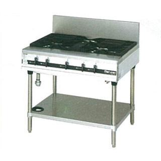 【業務用】マルゼン パワークックガステーブル MGTX-097E 900×750×800【 メーカー直送/後払い決済不可 】