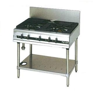 【業務用】 マルゼン パワークックガステーブル MGTXU-096E 900×600×800 12A・13A(都市ガス)【 メーカー直送/後払い決済不可 】【ECJ】