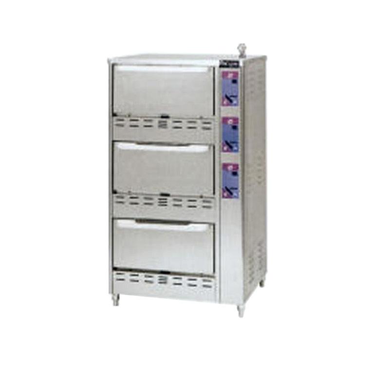 【業務用】【 業務用炊飯器 】 ガス立体自動炊飯器 3段型 [MRC-S3D] LPG(プロパンガス)【 厨房機器 】【 メーカー直送/後払い決済不可 】【ECJ】