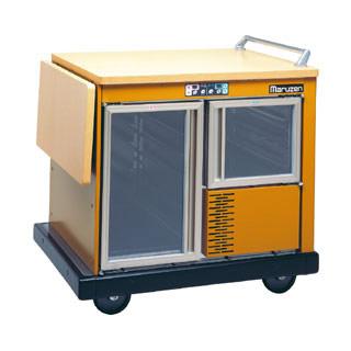 業務用 マルゼン ユニットワゴン MTW-10W2-BR 【 厨房機器 】 【 メーカー直送/後払い決済不可 】 【ECJ】