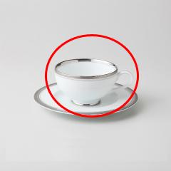 【まとめ買い10個セット品】和食器 シルバーリッチ(ウルトラホワイト) 紅茶C/S 36A466-14 まごころ第36集 【キャンセル/返品不可】【ECJ】