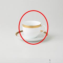 【まとめ買い10個セット品】和食器 ビクトリーゴールド(純白強化磁器) アメリカンC 36A484-11 まごころ第36集 【キャンセル/返品不可】【ECJ】
