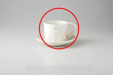 【まとめ買い10個セット品】和食器 粉引切立 コーヒーカップ 35M480-26 まごころ第35集 【キャンセル/返品不可】【ECJ】