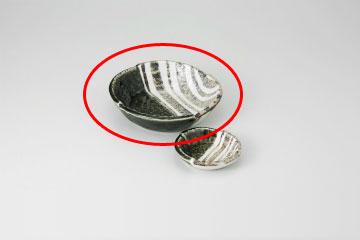 kak-711311 まとめ買い10個セット品 和食器 織部ストライプ 5.0刺身鉢 返品不可 36E022-07 ECJ キャンセル オリジナル 爆買い送料無料 まごころ第36集