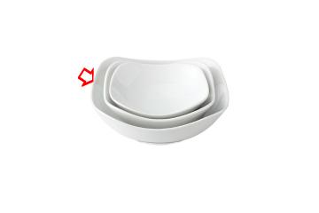 【まとめ買い10個セット品】和食器 SQUARE 22cmボール白 36H404-07 まごころ第36集 【キャンセル/返品不可】【ECJ】