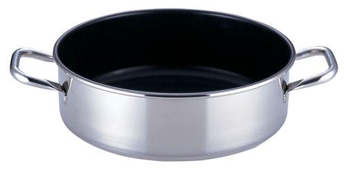 『 両手鍋 IH IH対応 』SAパワー・デンジ アルファ 外輪鍋 39cm[蓋無] IH対応IH鍋