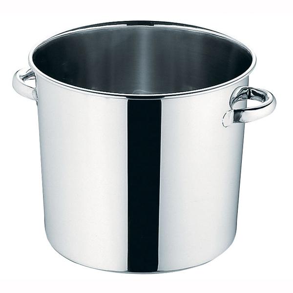 『 寸胴鍋 』18-8ステンレス テーパー付寸胴鍋[蓋無]33cm