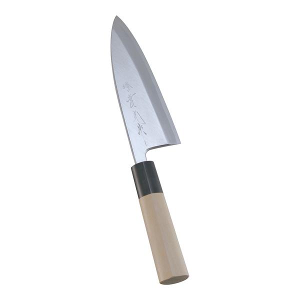 『 和包丁 出刃 』堺實光 上作 出刃[片刃]15cm 17532