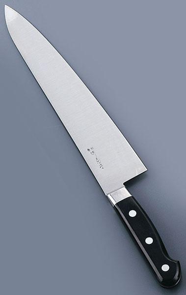 『 洋包丁 牛刀 』堺菊守日本鋼 口金付 牛刀包丁 36cm