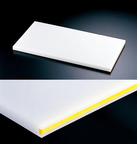『 まな板 業務用 600mm 』住友スーパー耐熱まな板[カラーライン付] 30SWL 黄 600×300×30mm【 メーカー直送/代金引換決済不可 】