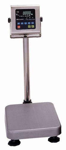 『 業務用秤 キッチンスケール 』スケールデジタル 防水・防塵デジタル台秤 60kg HV-60KVWP-K 取引証明用【 メーカー直送/代金引換決済不可 】