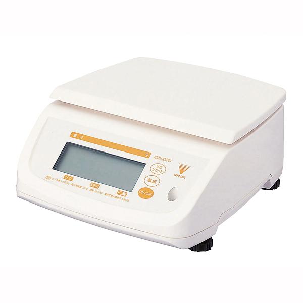 『 キッチンスケール デジタル 』寺岡 防水型デジタル上皿はかり テンポDS-500 20kg