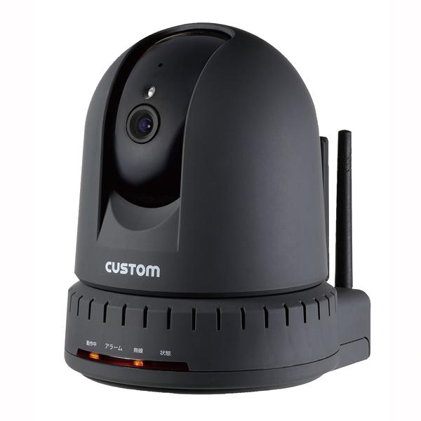 カスタム 温湿度計センサー付IPカメラ IPC-01TH