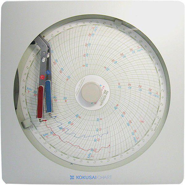 『 温度計 室内用温度計 』温湿度記録計 温湿きろく君 KC10-WW 8日用