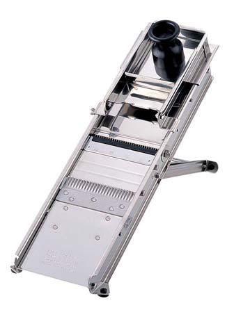 『 万能調理機 千ぎり 』マトファ 18-0ステンレス マンドリンカッター 44601 《38枚刃》