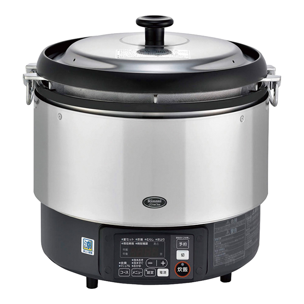 リンナイ ガス炊飯器αかまど炊き RR-S300G 12.13A 【 メーカー直送/代引不可 】 【ECJ】