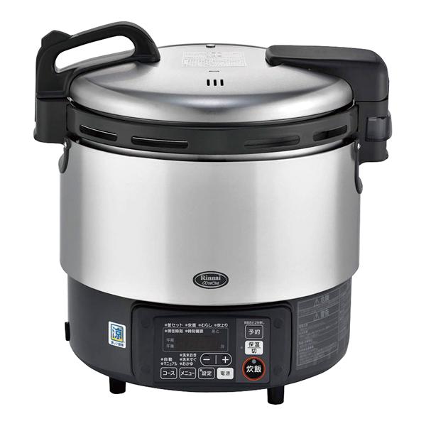リンナイ ガス炊飯器αかまど炊き RR-S200GV12・13A 【 メーカー直送/代引不可 】 【ECJ】