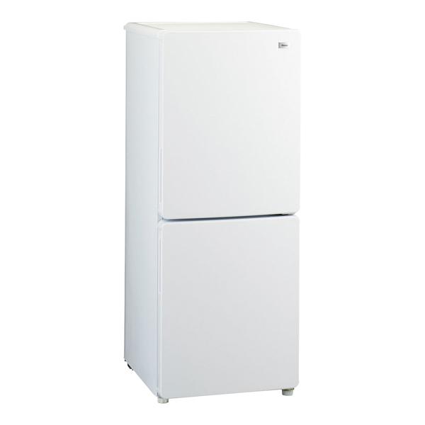 ハイアール 2ドア冷凍冷蔵庫 JR-NF148A(W) 【 メーカー直送/代引不可 】 【ECJ】