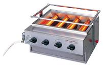 『 焼き物器 グリラー 』アサヒサンレッド ニュー黒潮4号 SG-N20 13A【 メーカー直送/代金引換決済不可 】
