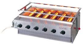 『 焼き物器 グリラー 』アサヒサンレッド ニュー黒潮6号 SG-N21 13A【 メーカー直送/代金引換決済不可 】