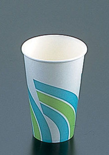 紙カップ[コールド用]SCM-360 レインボー[1400入] 【 業務用 【 ストロー カップ 紙コップ関連品 】
