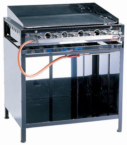 お好み焼き 鉄板 焼きそば・フランクフルト・お好み焼ガス台 EGYT-6型 LPガス 【 メーカー直送/後払い決済不可 】