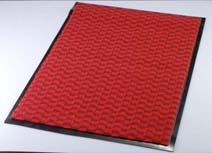 3M エンハンスマット3000 900×750mm 赤 【 業務用 【 玄関入口用マット 】