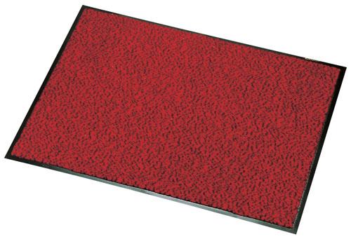 ロンステップ マットランナー 900×1800mm 赤黒 【 業務用 【 玄関入口用マット 】