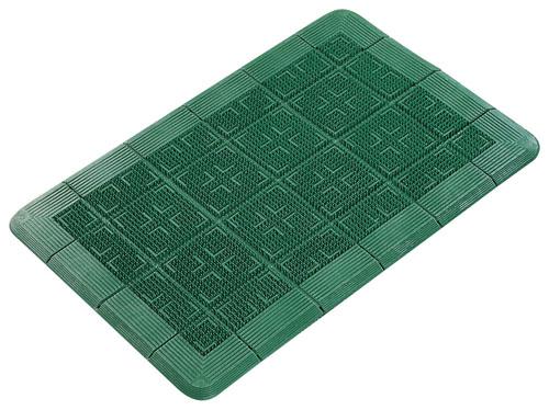 クロスハードマット 900×1800mm 緑 【 業務用 【 玄関入口用マット 】