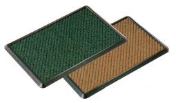 消毒マットセット 600×900 茶 【 業務用 【 玄関入口用マット 】