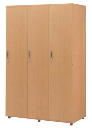木製フリージョイントロッカー 1段3人用 12S 【 メーカー直送/後払い決済不可 】 【 厨房用品 調理器具 料理道具 小物 作業 】