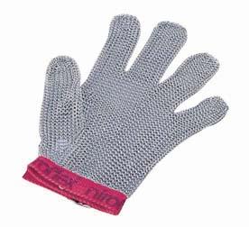 ニロフレックス メッシュ手袋5本指 S S5[白] 【 業務用 【 特殊手袋 】