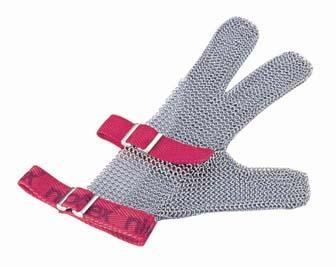 ニロフレックス メッシュ手袋3本指 S S3[白] 【 業務用 【 特殊手袋 】