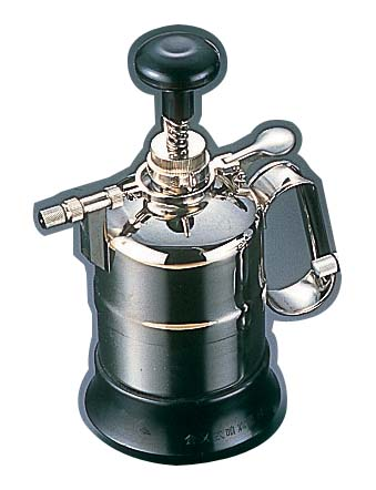 クロームメッキ噴霧器 防水型 中型[700cc] 【 業務用 【 衛生用スプレー 】