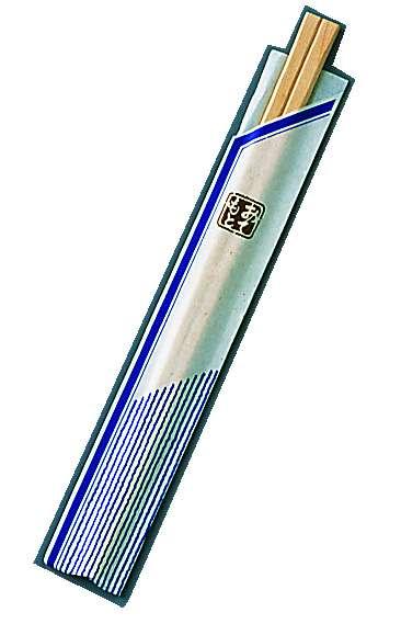『お弁当 割りばし』割箸 業務用 袋入 ピース紺 白樺元禄 20.5cm [1ケース100膳×40入]