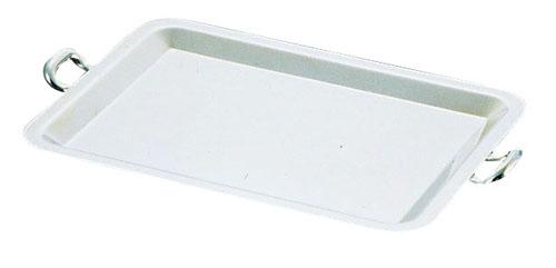 UK 18-8ロイヤル カナッペトレー [手付]L 【 食器 トレー トレイ 盆 飾り台 ショープレート 】