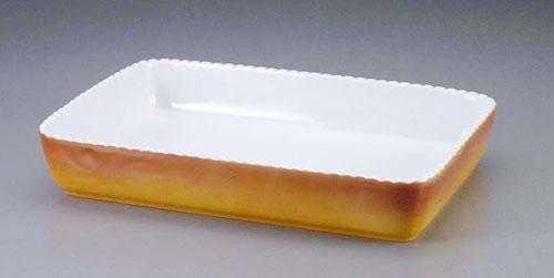 ロイヤル 角型グラタン皿 カラー PC500-44 【 業務用 【 ROYALE オーブンウエア 】