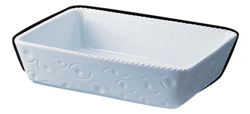 ロイヤル 長角深型グラタン皿 ホワイト PB520-40-10 【 業務用 【 ROYALE オーブンウエア 】
