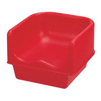 【まとめ買い10個セット品】キャンブロ ブースターシート 100BC ホットレッド【 家具 子供用椅子 ベビーチェア 】 【ECJ】
