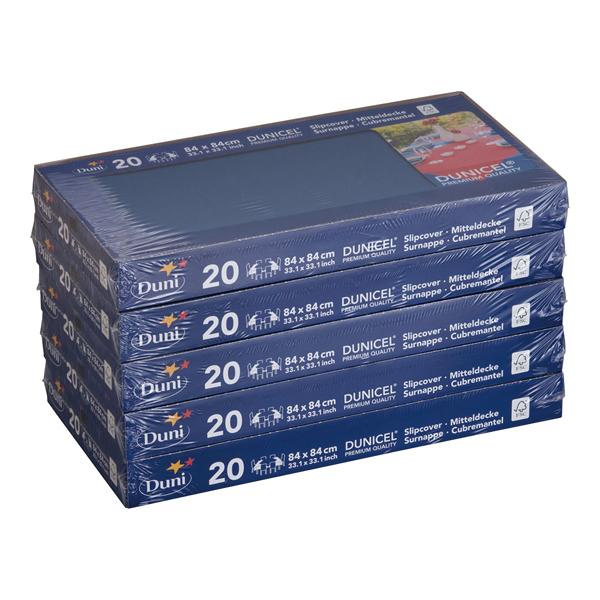 デュニセルテーブルカバー S[100枚入] D・ブルー[テーブルクロス] 【 業務用 【 家具 テーブルカバー 】