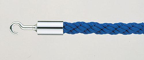 パーティションロープ Aタイプ 30C ブルー 【 メーカー直送/代金引換決済不可 】 【 業務用 【 店舗備品 ロープ[パーテーション用] 】