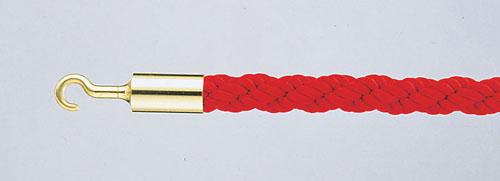 パーティションロープ Aタイプ 30B レッド 【 メーカー直送/代金引換決済不可 】 【 業務用 【 店舗備品 ロープ[パーテーション用] 】