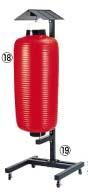 ビニール提灯 大看板 赤ベタ b135 【 業務用 【 店頭備品 サイン ちょうちん 】