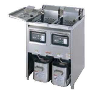 【業務用】タニコー 電気フライヤー[二槽タイプ] TEFL-67WN【 メーカー直送/後払い決済不可 】