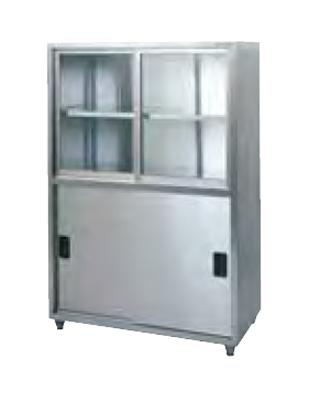 【業務用】タニコー tanico 戸棚[上段ガラス戸] TX-CB-90G 【 メーカー直送/後払い決済不可 】